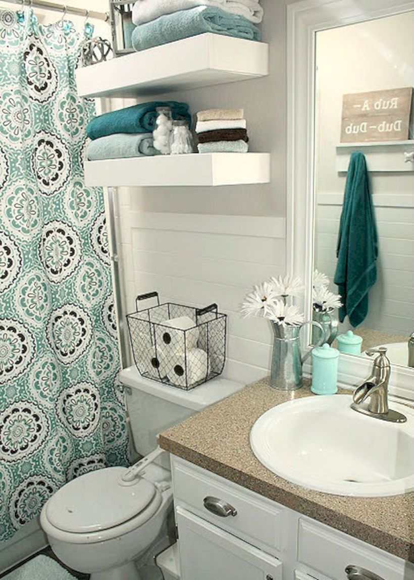 Small bathroom ideas on a budget (3)