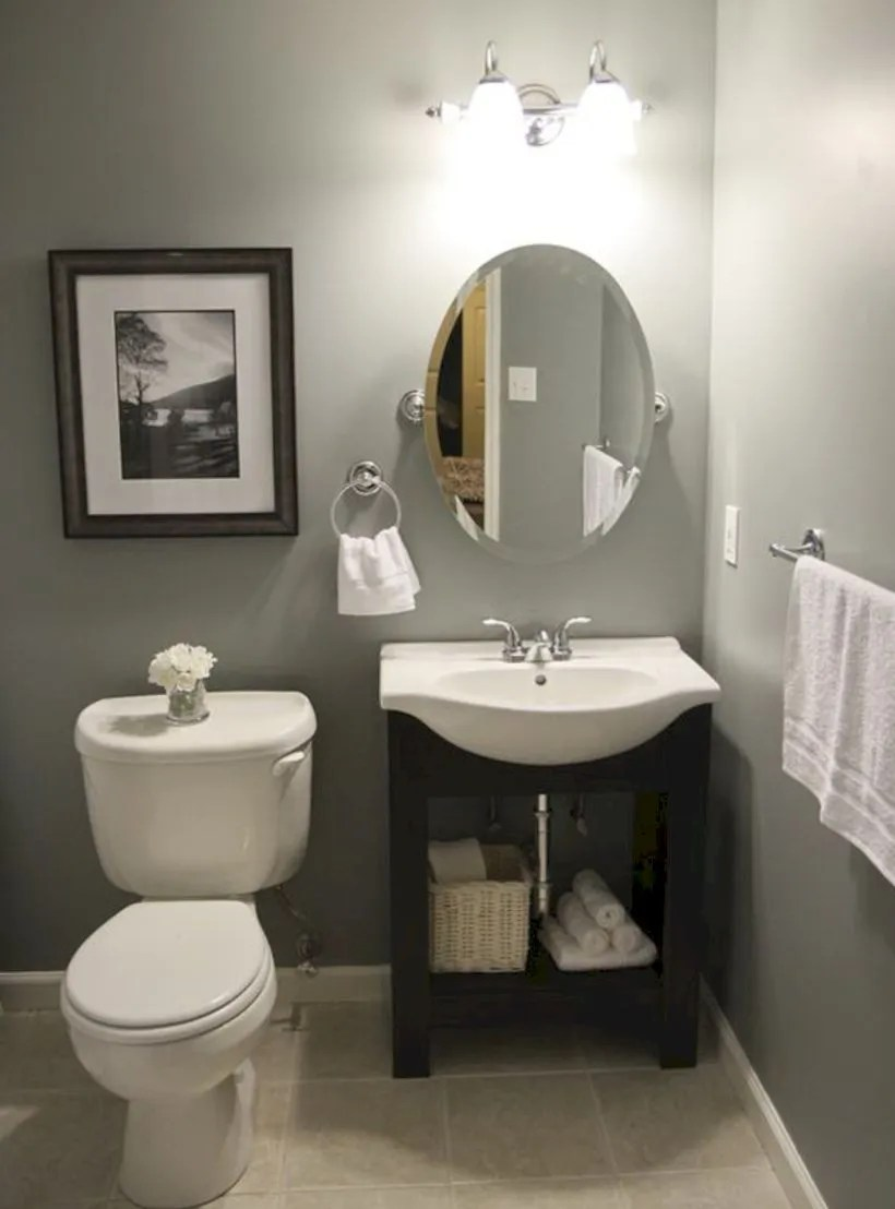 Small bathroom ideas on a budget (4)