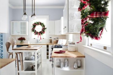 Stunning christmas kitchen décoration ideas 36 36