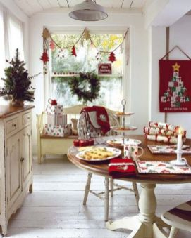 Stunning christmas kitchen décoration ideas 47 47