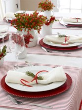Stunning christmas table decorations ideas 15