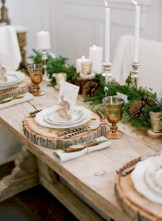 Stunning christmas table decorations ideas 16