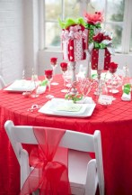 Stunning christmas table decorations ideas 23