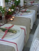 Stunning christmas table decorations ideas 36