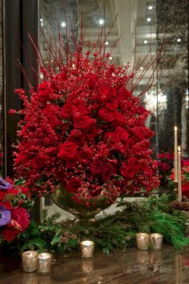 Stunning christmas table decorations ideas 40