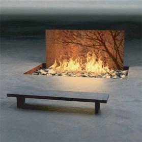 Stunning outdoor stone fireplaces design ideas 02