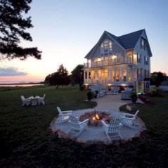 Stunning outdoor stone fireplaces design ideas 08
