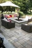 Stunning outdoor stone fireplaces design ideas 50