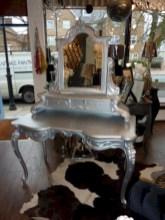 Stunning rustic makeup vanity ideas 13