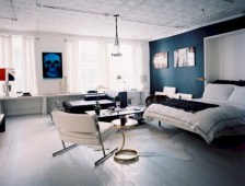 Stylish bedrooms with floor to ceiling windows 08