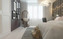 Stylish bedrooms with floor to ceiling windows 16