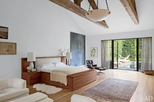 Stylish bedrooms with floor to ceiling windows 21
