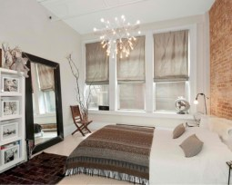 Stylish bedrooms with floor to ceiling windows 27