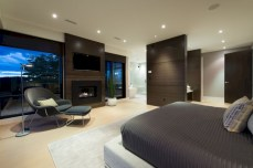Stylish bedrooms with floor to ceiling windows 41