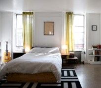 Stylish bedrooms with floor to ceiling windows 45