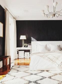 Stylish christmas décoration ideas with stylish black and white 12