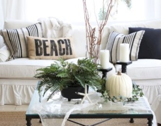 Stylish christmas décoration ideas with stylish black and white 18