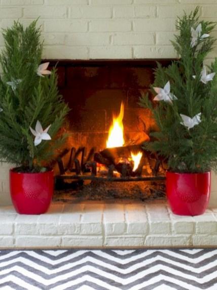 Stylish christmas décoration ideas with stylish black and white 28