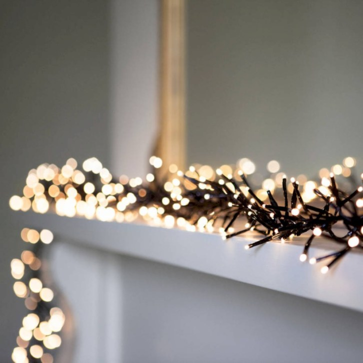 Stylish christmas décoration ideas with stylish black and white 52