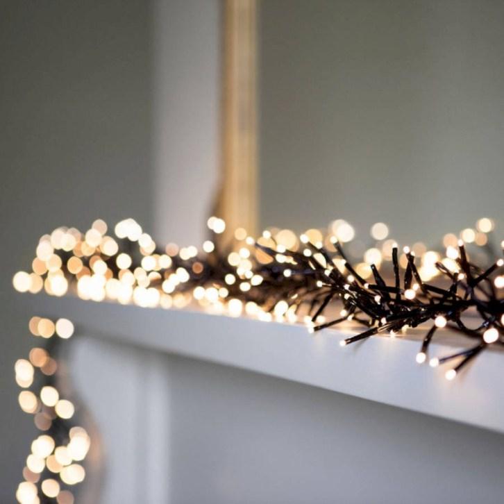 Stylish christmas décoration ideas with stylish black and white 52