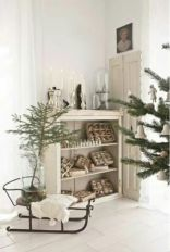 Stylish christmas decoration ideas using sleigh 47 47