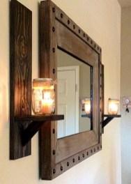 Unique diy bathroom ideas using wood (16)