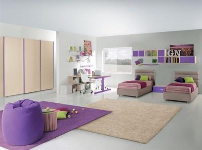 Unisex modern kids bedroom designs ideas 14