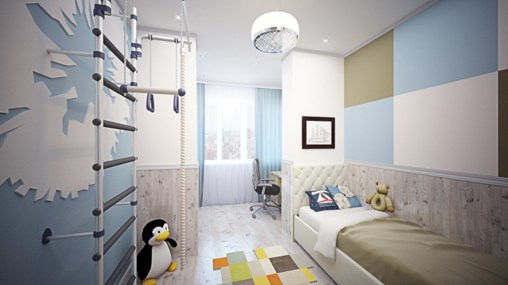 Unisex modern kids bedroom designs ideas 17