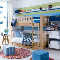 Unisex modern kids bedroom designs ideas 24