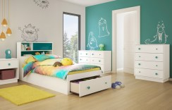 Unisex modern kids bedroom designs ideas 37