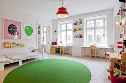 Unisex modern kids bedroom designs ideas 42