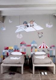 Unisex modern kids bedroom designs ideas 44