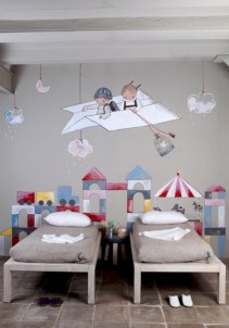 Unisex modern kids bedroom designs ideas 44