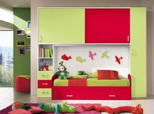 Unisex modern kids bedroom designs ideas 46