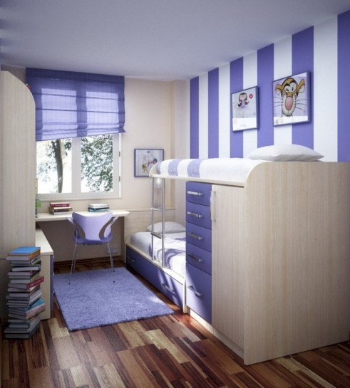 Unisex modern kids bedroom designs ideas 56