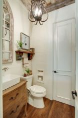 Vintage farmhouse bathroom ideas 2017 (10)