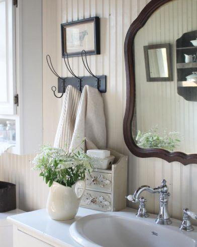 Vintage farmhouse bathroom ideas 2017 (12)