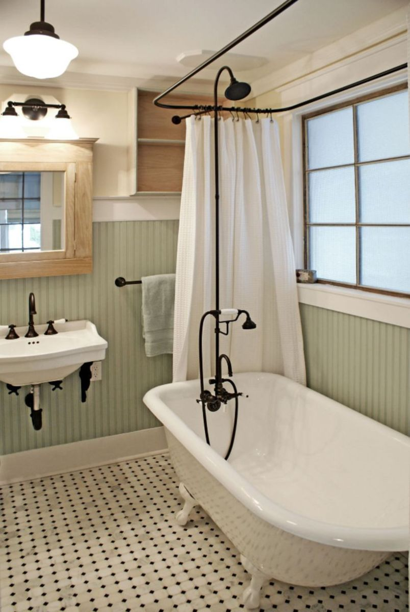 Vintage farmhouse bathroom ideas 2017 (13)