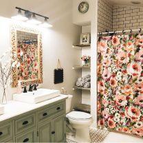 Vintage farmhouse bathroom ideas 2017 (15)