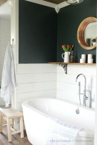 Vintage farmhouse bathroom ideas 2017 (26)