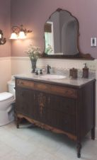 Vintage farmhouse bathroom ideas 2017 (40)