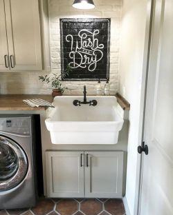 Vintage farmhouse bathroom ideas 2017 (45)