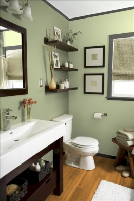 Vintage paint colors bathroom ideas (19)