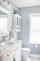 Vintage paint colors bathroom ideas (22)