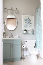 Vintage paint colors bathroom ideas (24)