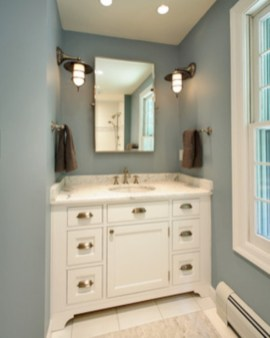 Vintage paint colors bathroom ideas (31)