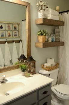 Vintage paint colors bathroom ideas (6)