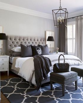 Visually pleasant yellow and grey bedroom designs ideas 09
