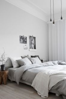 Visually pleasant yellow and grey bedroom designs ideas 60