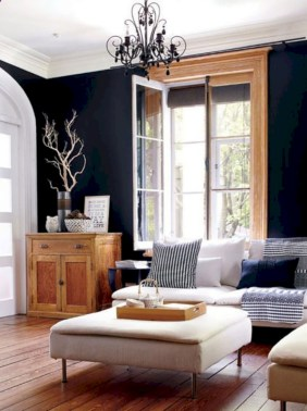 White furniture living room ideas for apartments 11